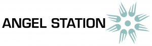 Angelstation Logo and font header
