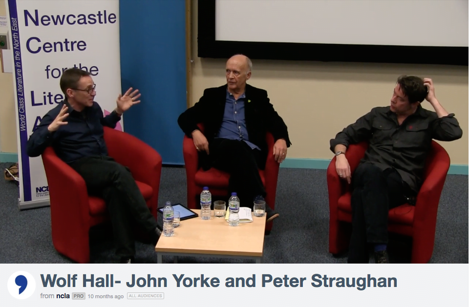 Wolf Hall, 2106 Golden Globe Winner, Co Executive Producer John Yorke, Company Pictures, peter straughan, ncla, Newcastle university