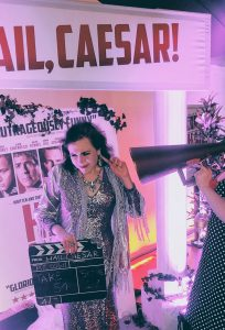 Into the Woods tutor Chelsea Morgan Hoffman at the Hail Caesar premiere