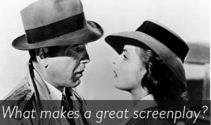 What makes a great screenplay black and white picture from the guardian newspaper