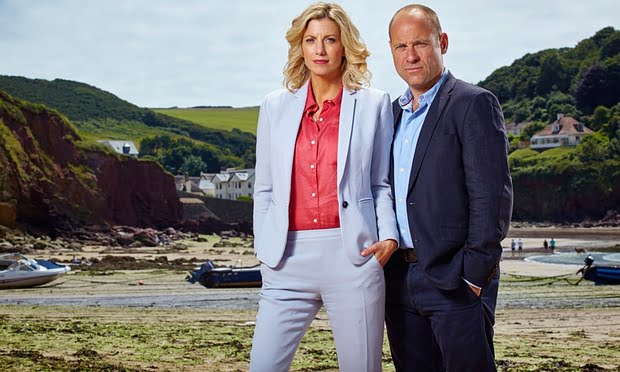 The Coroner (BBC1), written by Sally Abbott. Photograph: Mike Hogan/BBC