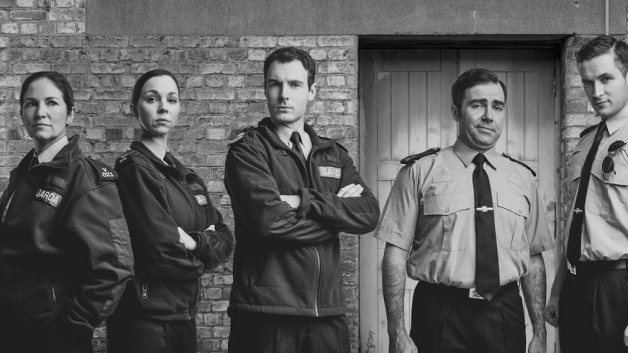Photograph of the cast of Red Rock