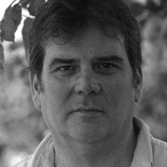 Headshot of BBC Writersroom Development Executive Simon Nelson