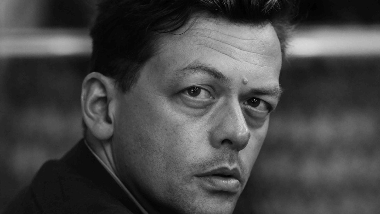 Black and white headshot of Professor Simon Stephens article feature