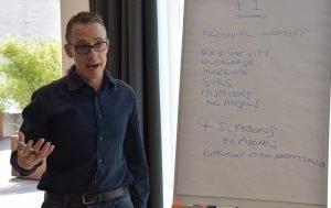 john yorke, Hamburg, training, online courses, 5 act structure, into the woods, narrative training